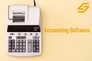 accounting software instead of a 10-key calculator