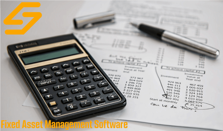 fixed assets management process done on paper and calculator