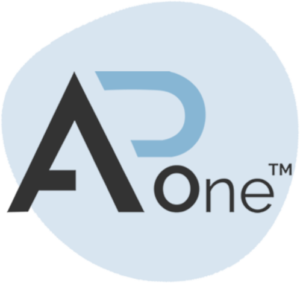 accounts payable automation software ap one logo