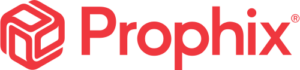 corporate performance management software prophix logo red